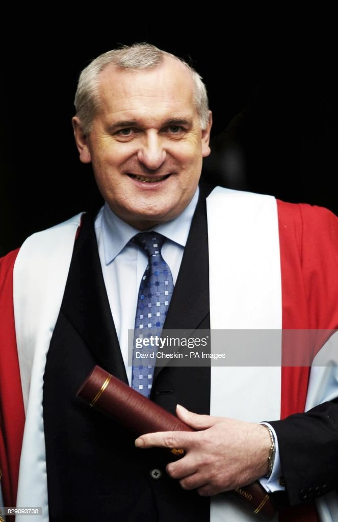 Bertie Ahern Honorary Degree Aberdeen University Pictures Getty Images