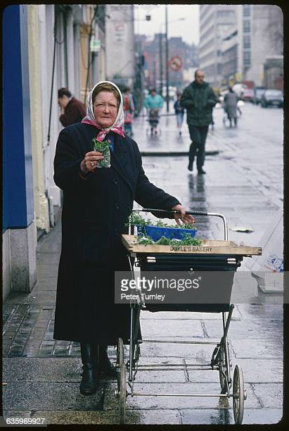 Irish Vendor Selling Herbs