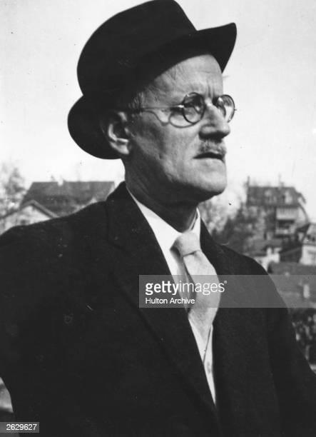 Irish writer James Joyce in Zurich