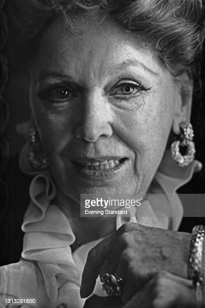 Irish-American actress Maureen O'Sullivan , UK, 24th November 1973.
