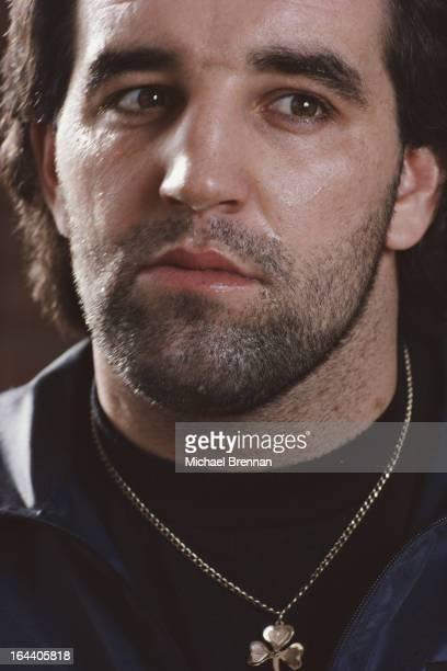 IrishAmerican heavyweight boxer Gerry Cooney New York City February 1982