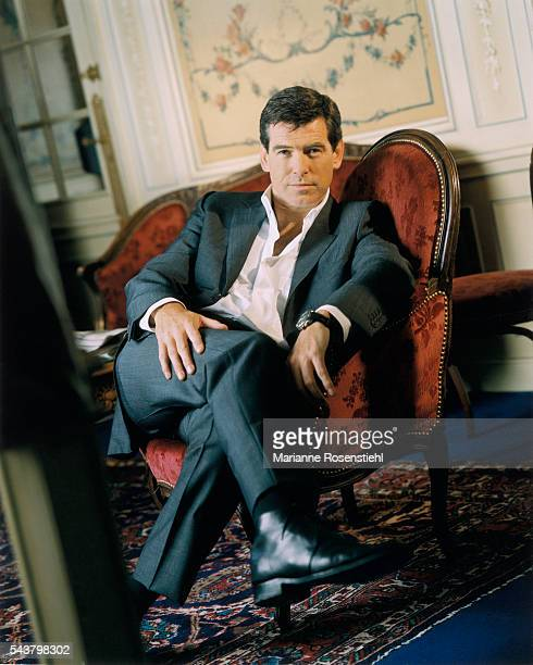 Irishborn actor and star of the later series of James Bond films Pierce Brosnan
