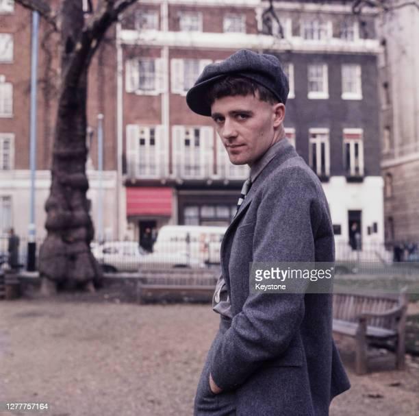 Irish-born British singer and songwriter Gilbert O'Sullivan, UK, 1970.
