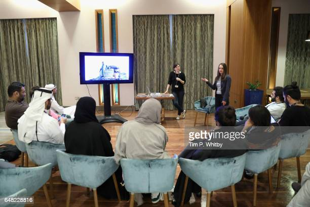 Irit Neidhardt hosts Each Short Film in its Own Right discussion on day three of Qumra the third edition of the industry event by the Doha Film...