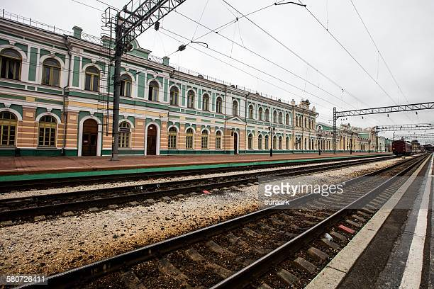 Irkutsk railway station, Irkutsk, Siberia, Russia