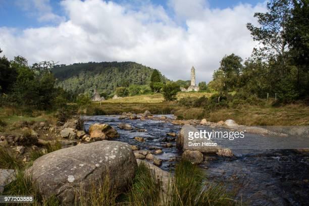 irland landschaft - landschaft stock pictures, royalty-free photos & images