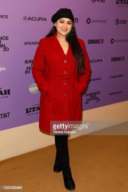 Irlanda Moreno attends the 2020 Sundance Film Festival La Leyenda Negra Premiere at Egyptian Theatre on January 27 2020 in Park City Utah