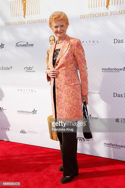 Irm Hermann attends the Lola German Film Award 2014 at Tempodrom on May 09 2014 in Berlin Germany