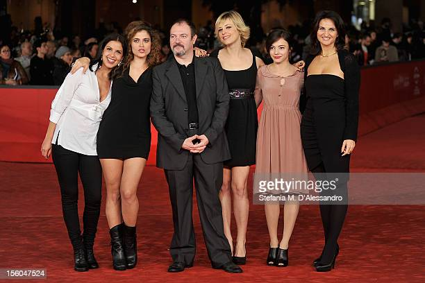 Irma Carolina Di Monte Veronica GentiliCarlo Lucarelli Sara Sartini and Laura Glavan attend the L'Isola Dell'Angelo Caduto Premiere during the 7th...