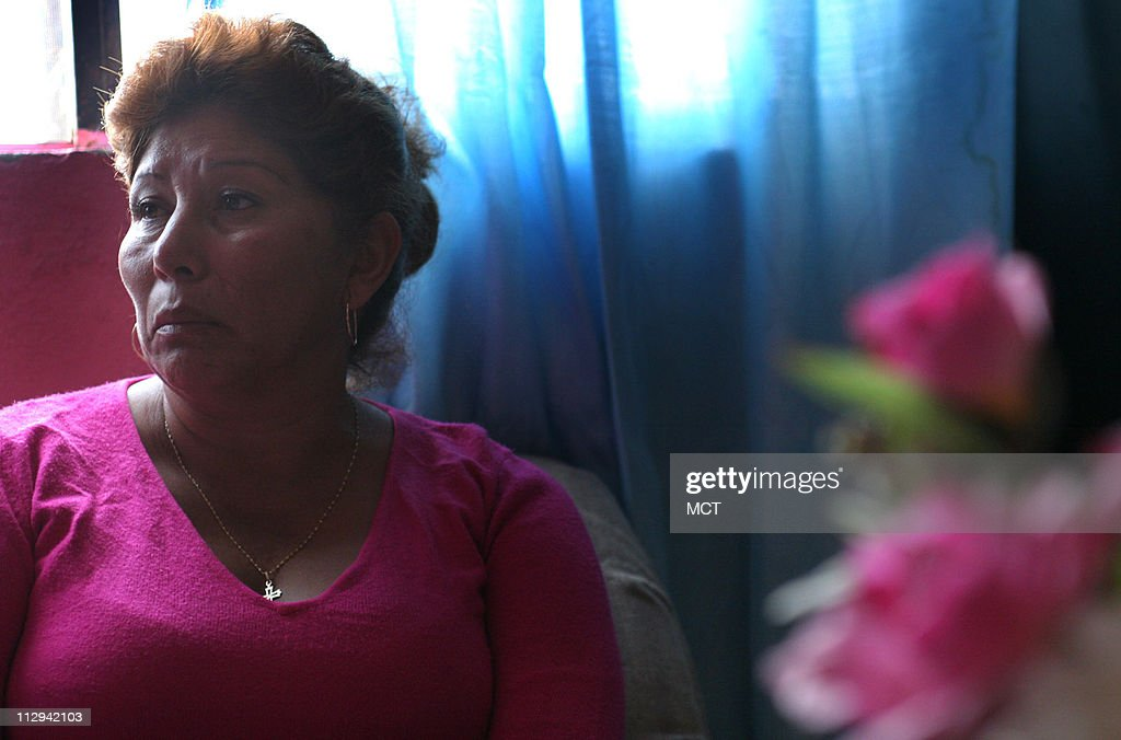 Irma Monreal, photographed in her home August 20, 2006, in C : News Photo