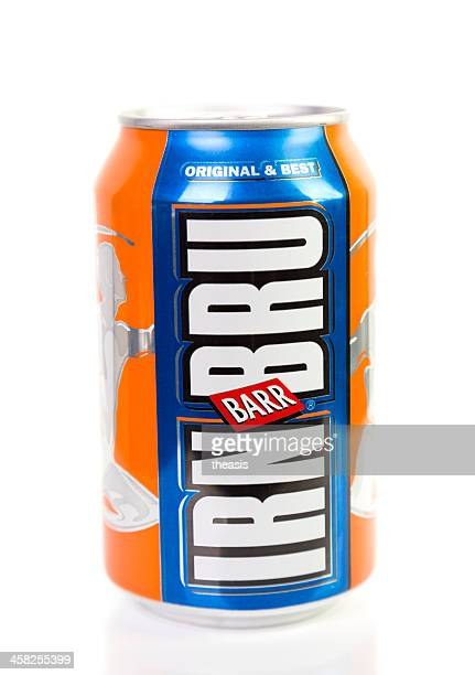 irn bru can - theasis stock pictures, royalty-free photos & images
