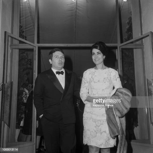 Irène Papas et son mari à Cannes, France, en mai 1967.