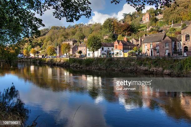 iron bridge - ironbridge shropshire stock pictures, royalty-free photos & images