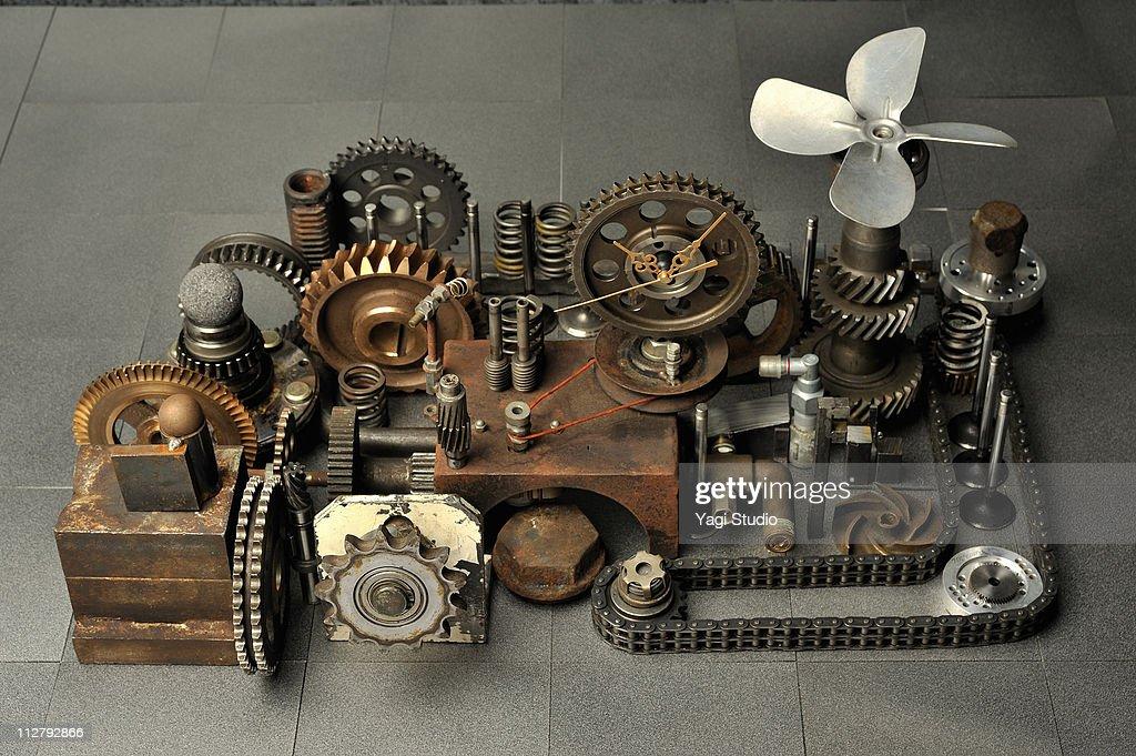 Iron composition : Stock Photo