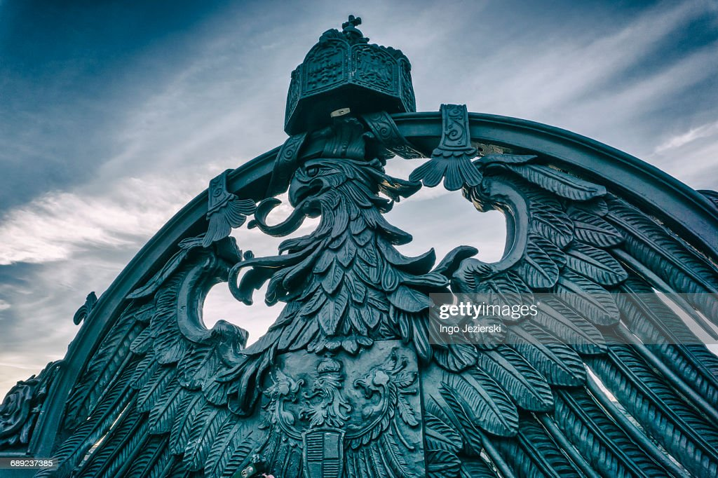 Iron eagle : Stock Photo