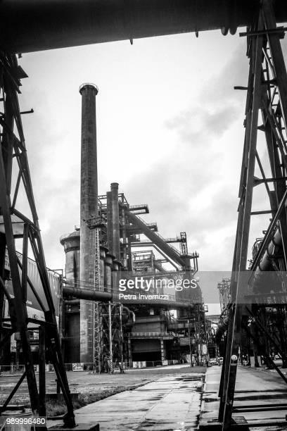 iron factory - petra invernizzi foto e immagini stock