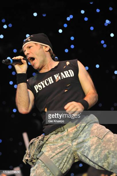 Iron Maiden, Bruce Dickinson, Pukkelpop Festival, Hasselt, Belgium, 19 August 2010.