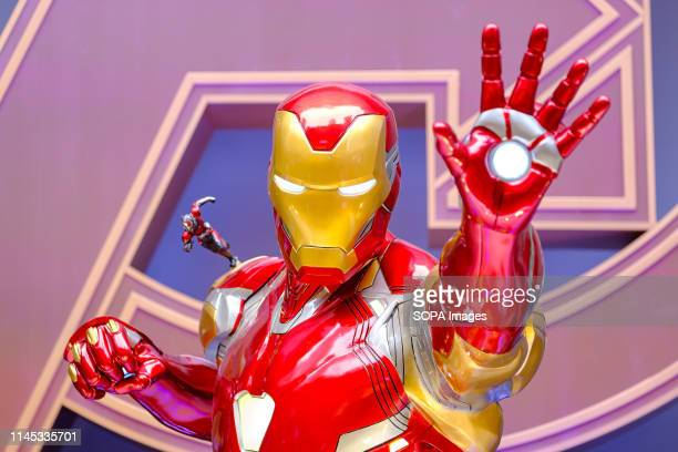 """Iron man is a fictional character seen appearing in American comic books published by Marvel Comics. Avengers 4: Endgame"""" character model features..."""