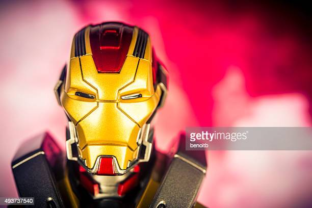 iron man - marvel comics stock pictures, royalty-free photos & images