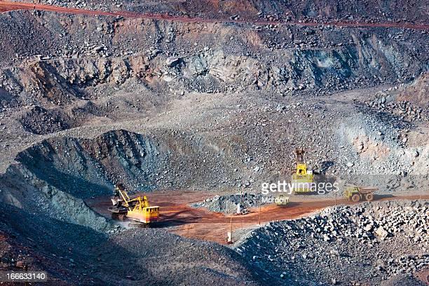 Eisenerz mine in Russland