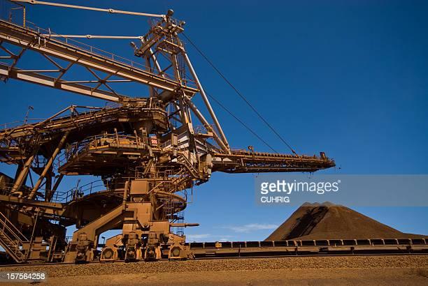 Iron Ore Stacker and Stockpile