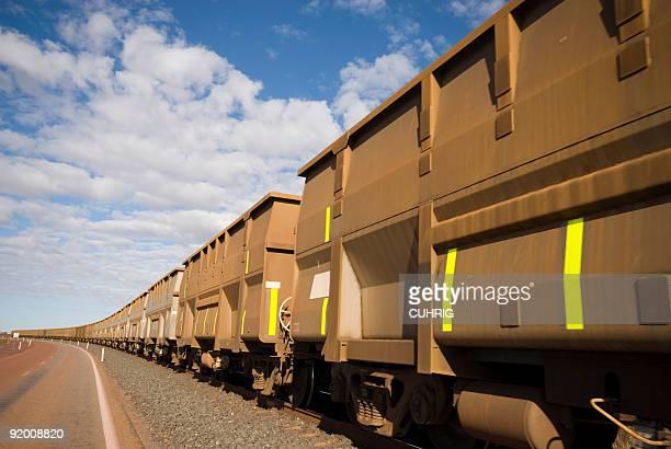 Iron Ore Train Cars