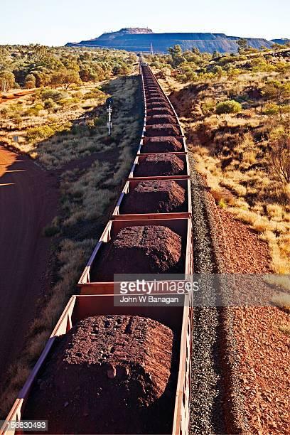 Iron ore train, Newman,W.Australia