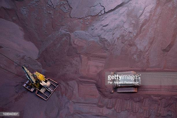 Iron Ore Transfer And Storage Center