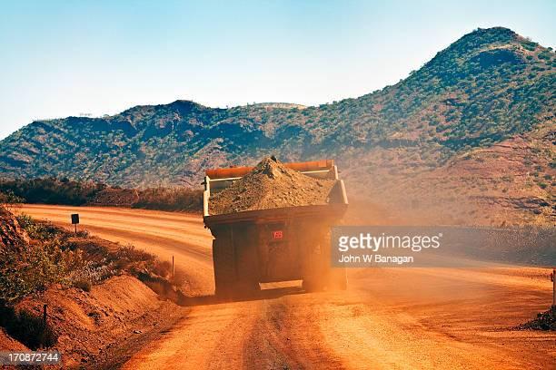 Iron ore truck,Tom Price, Australia