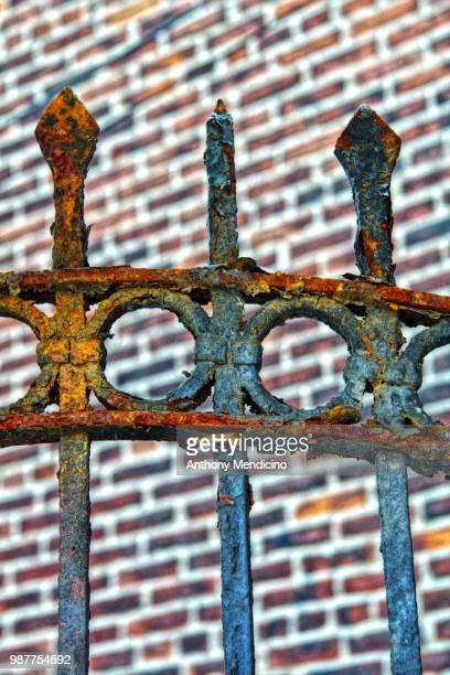 iron rust - rust colored - fotografias e filmes do acervo