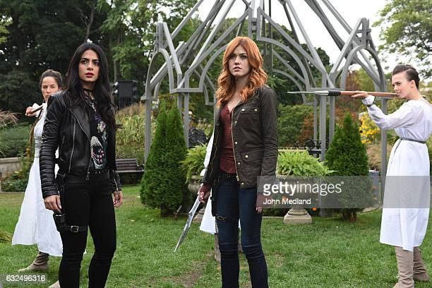 SHADOWHUNTERS Iron Sisters Clary and Isabelle head to The Citadel looking for answers in Iron Sisters an all new episode of Shadowhunters airing...