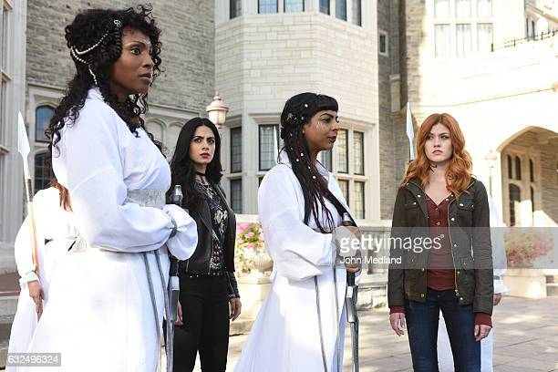 """Iron Sisters"""" - Clary and Isabelle head to The Citadel looking for answers in Iron Sisters, an all new episode of Shadowhunters, airing MONDAY,..."""