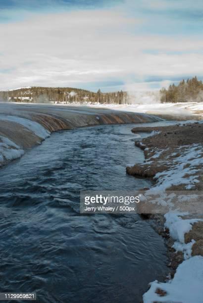 Iron Spring Creek, Winter, Yellowstone Np