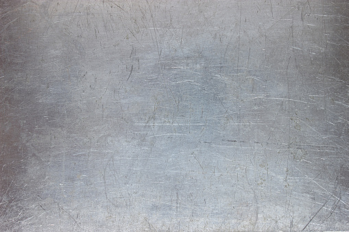 iron texture, pattern the metal plate with scuffed 975875954