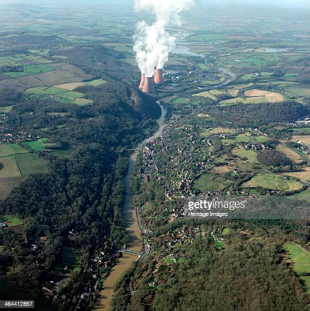 Ironbridge Gorge and Buildwas Power Station Shropshire 2001 Ironbridge Gorge in what is today rural Shropshire was the cradle of the Industrial...