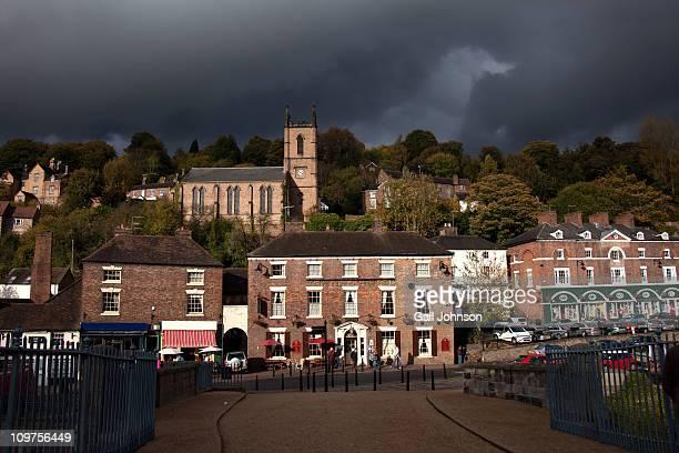 ironbridge - ironbridge shropshire stock pictures, royalty-free photos & images