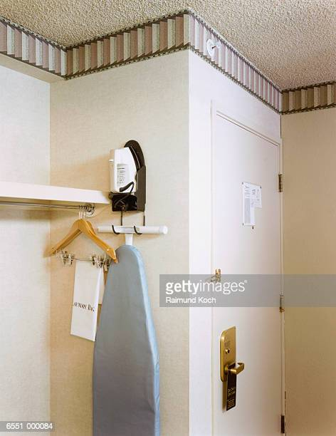 Ironing Board in Hotel Room