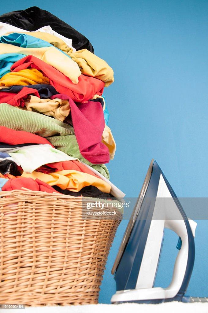 ironing : Stock Photo