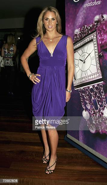 Ironwoman Candice Falzon attends the Guess Faces To Watch party at Catalina restaurant Rose Bay on November 15 2006 in Sydney Australia Guess is...