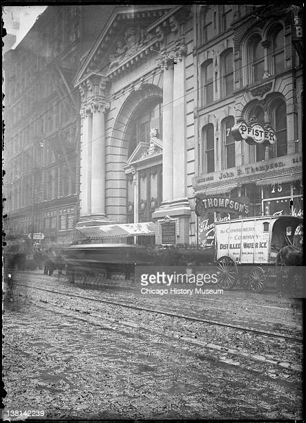 Iroquois Theater at the time of the fire Chicago Illinois December 10 1903