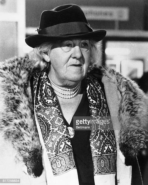 Irresistible Margaret Rutherford has been delighting audiences as the heroine of the Agatha Christie Mysteries and recently copped an Academy Award...