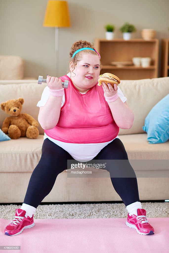 Fat Woman Funny Stock Photos and Pictures Getty Images
