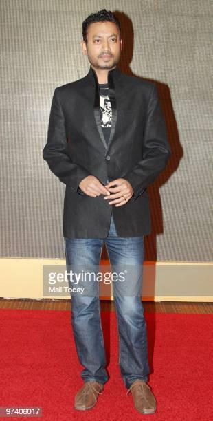 Irrfan Khan at Big Pictures' success bash held in Mumbai on February 28 2010