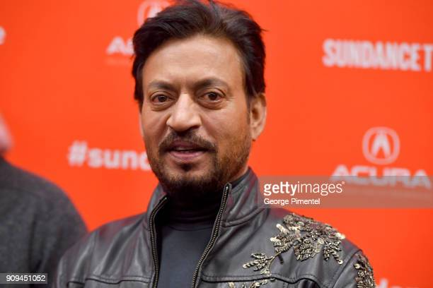 Irrfan Khan attends the Puzzle Premiere at Eccles Center Theatre during the 2018 Sundance Film Festival on January 23 2018 in Park City Utah