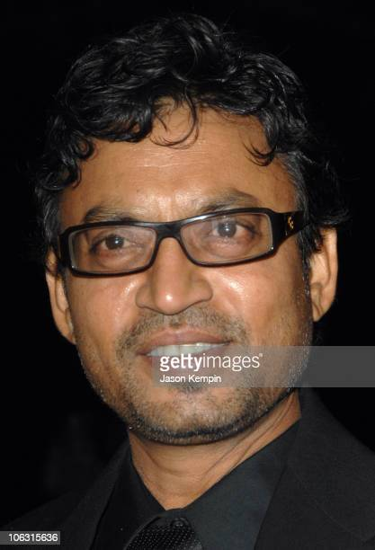 Irrfan Khan during Namesake New York City Premiere March 6 2007 at Chelsea West Cinemas in New York City New York United States