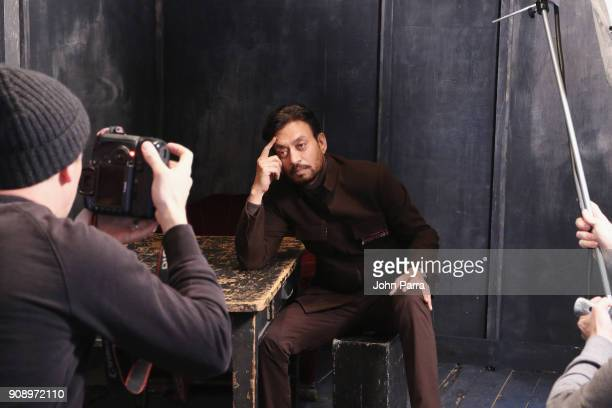 Irrfan Khan from 'Puzzle' attends The Hollywood Reporter 2018 Sundance Studio at Sky Strada Park City on January 22 2018 in Park City Utah