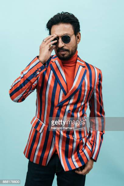 Irrfan Khan poses during a portrait session on day three of the 14th annual Dubai International Film Festival held at the Madinat Jumeriah Complex on...