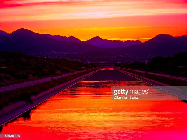 Irrigation canal in Scottsdale