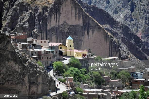 iruya town in salta province, argentina - サルタ州 ストックフォトと画像