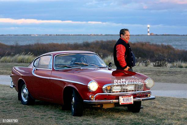Irv Gordon Stands Next To His 1966 Volvo P1800 In This Undated Photo Gordon Was Honored For Driving The Car Two Million Miles